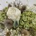 Интерьерная композиция из искусственных цветов «Эксклюзив»