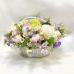 Объемная корзина цветов «Мой мир»