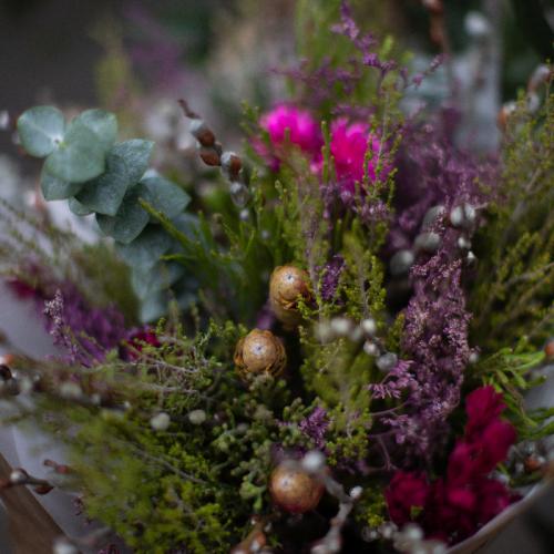 Букет цветов «Bush flowers»