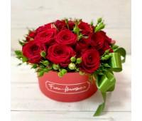 Цветочный парфюм + 5 красных шаров в подарок