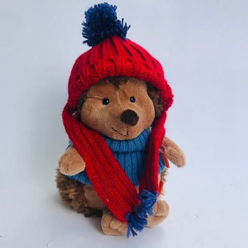 Мягкая игрушка «Ёжик колюнчик в шапке»
