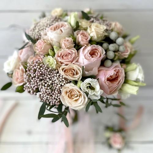 Свадебный букет «Amour»
