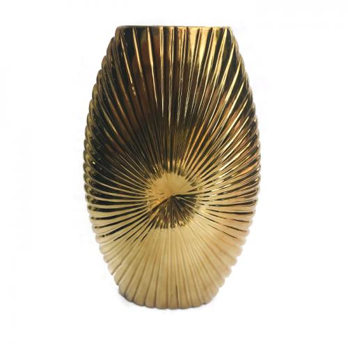 "Напольная золотая ваза ""Gold"""