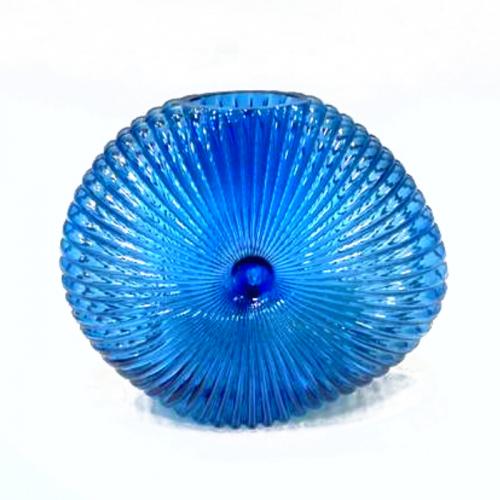 Стеклянная ваза «Камбала»