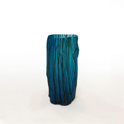 Стеклянная ваза «Стильная геометрия»