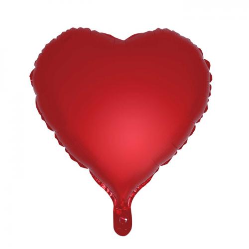 Сатиновый фольгированный шар сердце