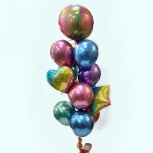 Набор шаров «Металлик»