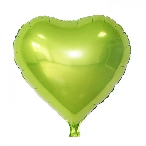 Глянцевый фольгированный шар Сердце