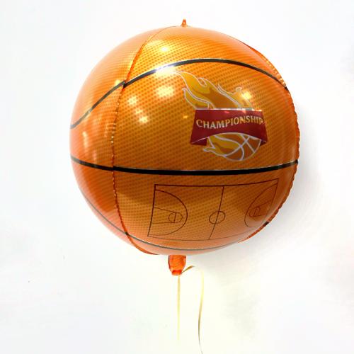 Фольгированный шар-сфера «Розовое золото»