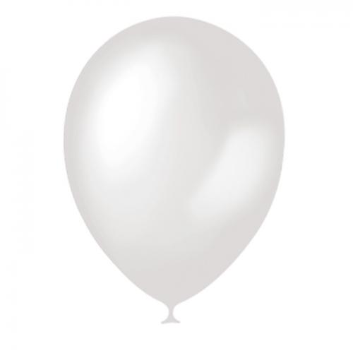Латексный шар без рисунка (глянцевый), без обработки