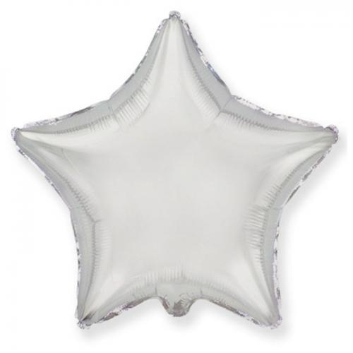 Сатиновый фольгированный шар Звезда